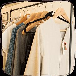 服飾雑貨の販売